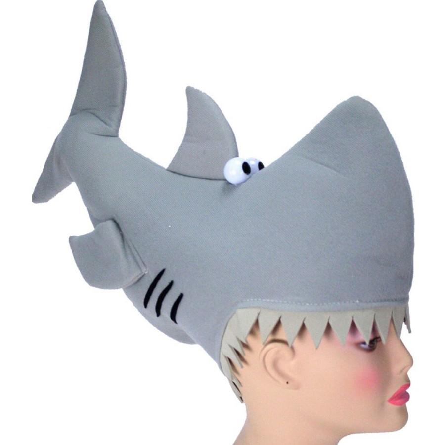 Man-Eating Shark Hat | Novelty Hat, Silly Hat, Animal Hat