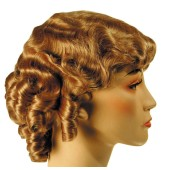 1930s Fingerwave Fluff Flapper Wig | Roaring Twenties Wig, 1930s Flapper, Gatsby Wig