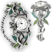Absinthe Makes the Heart Grow Fonder Watch Bracelet