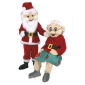 Mrs. Santa Claus Mascot