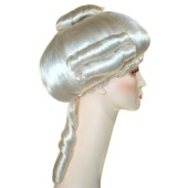 Aristocratic Lady Wig | Colonial Lady Wig, Colonial Wigs, 17th century wig, 18th century wig, Colonial Lady, Powdered wig