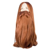 Bargain Viking Wig Set