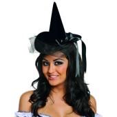 Mini Burlesque Witch Hat - Velour