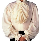 Colonial Shirt - Cavalier Shirt, Pirate Shirt, Jabot Shirt