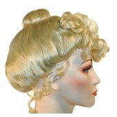 Cinderella Upsweep Wig | Gibson Girl wig, Mrs Claus wig, Princess wig, 19th Century wig