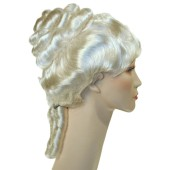 Colonial Lady Wig - Colonial Wigs, Colonial Lady, Powdered Wig