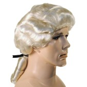 Deluxe Colonial Man Wig - George Washington Wig, Thomas Jefferson wig, Quaker wig, Mozart wig, William Penn wig