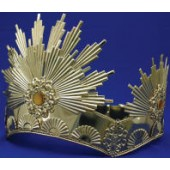 Gold Sunburst Crown