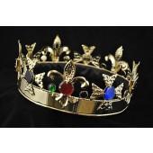 Fleur de Lis King Crown