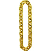 "Jumbo 36"" Gold Chain Necklace"
