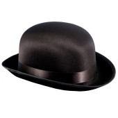 Derby Bowler Hat - Black