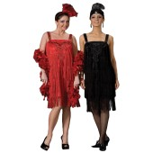 Deluxe Flapper Costume - Roaring 20's Dress | 1920s Costumes, Flapper Costumes, Roaring 20s Costume