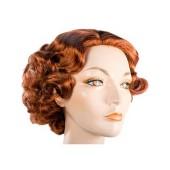 1930's Full Fluff Flapper Wig | Fingerwave Flapper Wig, Roaring Twenties Wig
