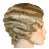 Fingerwave Flapper Wig - Roaring Twenties Wig