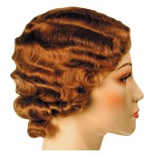 Fingerwave Fluff Flapper Wig | Roaring Twenties Wig, Gatsby Wig