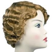 Gatsby Flapper Wig - Fingerwave Flapper Wig, Roaring Twenties Wig, Flapper Wig