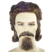 General Custer Wig Set