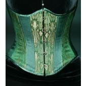 Absinthe Fairy Silk Underbust Corset