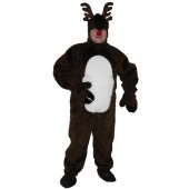 Reindeer Suit Open Faced