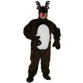 Reindeer Suit Open Faced