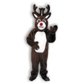 Reindeer Suit with Mascot Head