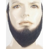 Black full face beard