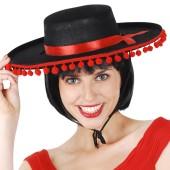 Felt Zorro Spanish Gaucho Hat