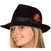Fedora Hat Wool Felt