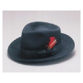 Wool Felt Blues Brothers Fedora Hat
