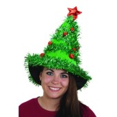Light Up Christmas Tree Hat
