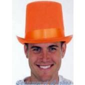 Felt Top Hat Orange
