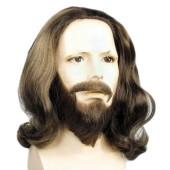 Jesus Wig, Biblical Wig, Jesus Beard, Apostle Wig