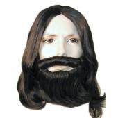 Jesus Wig, Mustache & Beard Set