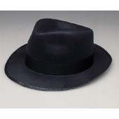 Permafelt Blues Brother Fedora Hat Black