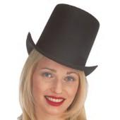 "Top Hat - Permalux Coachman 7"" tall Black"