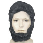 Abe Lincoln Wig Set