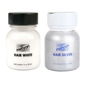 Mehron Hair Color White or Silver