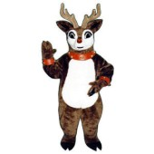Rudolph the Red Nose Reindeer Mascot Costume