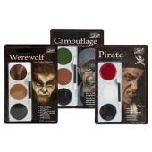 Mehron Tri-Color Makeup Palettes