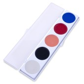 5 Color Color Clown Palette w/Auguste