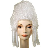 Marie Antoinette Wig | Colonial Lady Wig, Colonial Wigs, 17th century wig, 18th century wig, Colonial Lady, Powdered wig