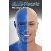 Blue Man, Blue Person Character Kit