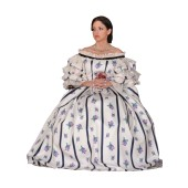 Mrs Lincoln Civil War Gown
