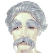 Mark Twain Wig Set