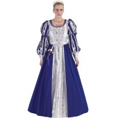 Musketeer dress blue