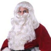 Santa Claus Wig and Beard Set