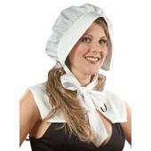 Pilgrim Bonnet - White
