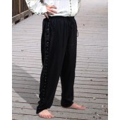 Renaissance Pants, Pirate Pants, Gothic Pants, Medieval Clothes, Pirate Costume
