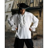 Roberto Cofresi Pirate Shirt - Renaissance Shirt, Jabot Shirt, Frilly shirt, Medieval Shirt, Pirate Costume, Pirate Shirt