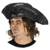 Pirate Tricorn - Black